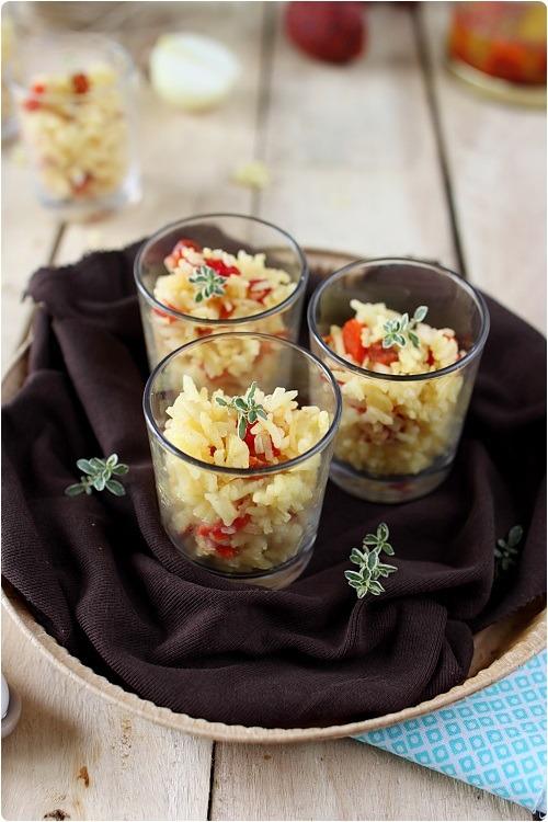 verrine-poivron-riz-chorizo