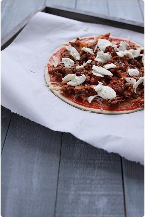 pizza-bolognaise