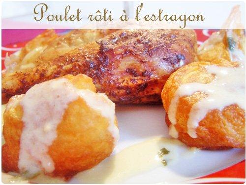 Poulet r ti la moutarde d estragon chefnini - Cuisiner un poulet roti ...