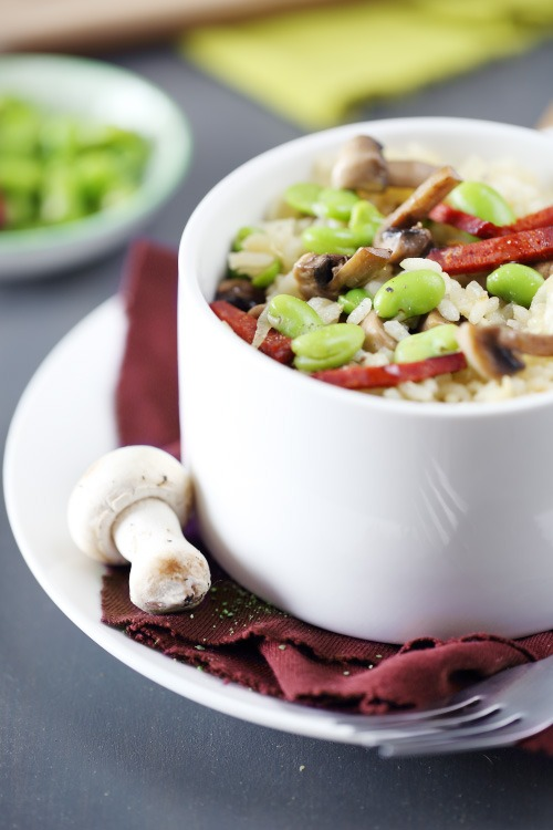 risotto-feve-chorizo