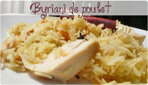 Poulet fa on byriani aux pices chefnini for Prima cuisine gourmande