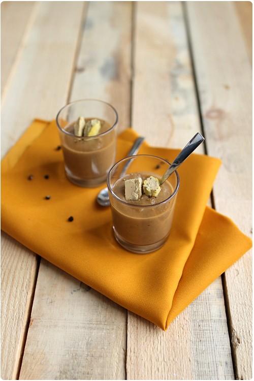 velout de lentille et copeaux de foie gras chefnini. Black Bedroom Furniture Sets. Home Design Ideas