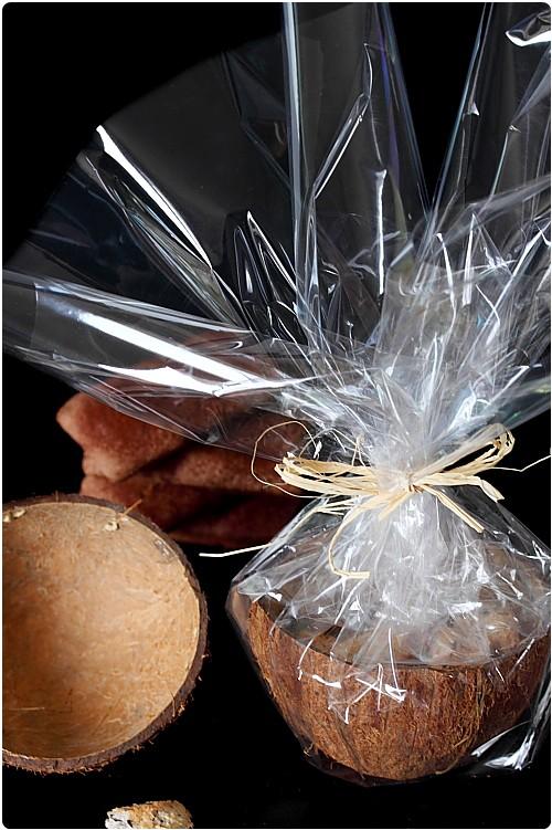 Noix De Coco Pour Decoration : Rochers coco choco chefnini