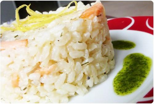 risotto-saumonfume