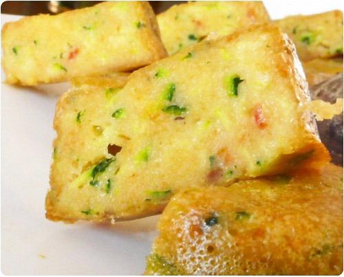 muffin-courgette