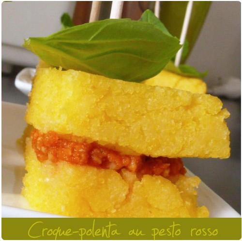croque-polenta