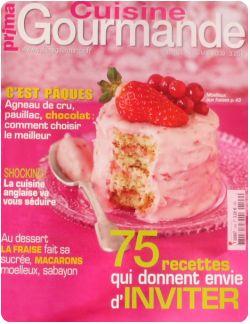 Revue de presse culinaire 1 chefnini for Prima cuisine gourmande