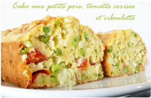 Cake Tomates Paprika Chevre