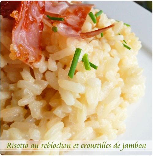 risotto-reblochon
