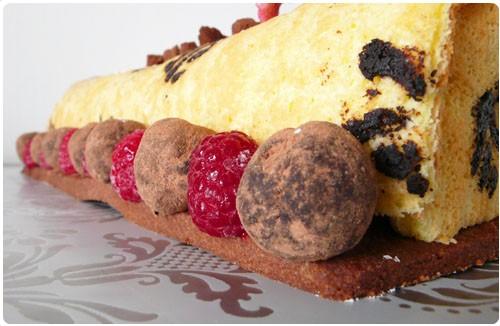 buche-vanille-truffes4