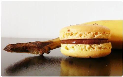 macaron-banane-split