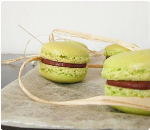 macaron-poire-belle-helene2