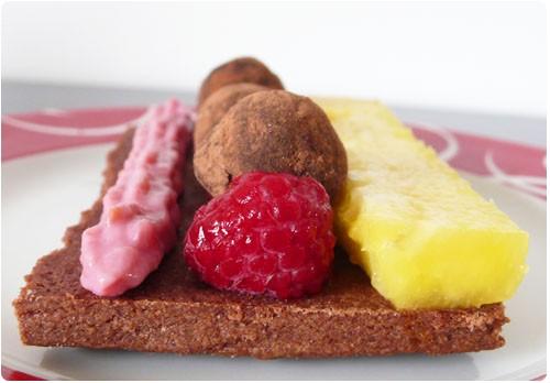 sable-chocolat-fruit-truffe