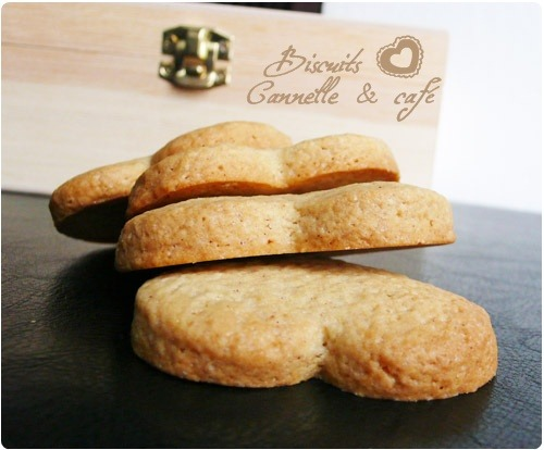 Biscuits croquants au caf et la cannelle chefnini for Prima cuisine gourmande