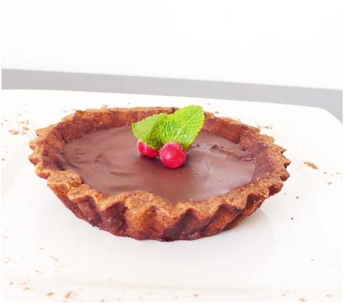 tartelette-groseille-chocolat