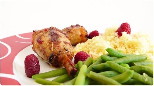 poulet-framboise