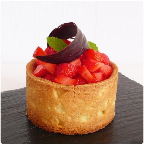tartelette-chocolat-fraise