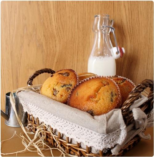 Muffins aux fruits secs et miel