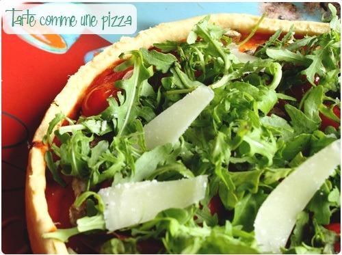 Tarte comme une pizza