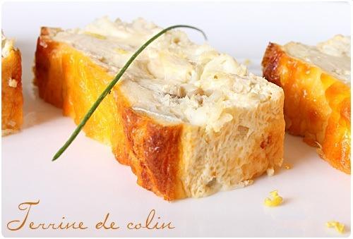 Terrine de colin chefnini - Cuisiner du colin surgele ...