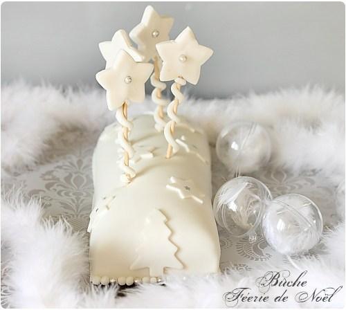 Sujets decoratifs pour buche de noel