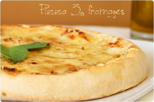 Pizza blanche 3 fromages | chefNini