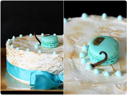 gâteau 4 étages vanille et citron | chefnini