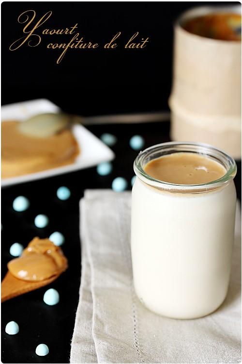 Yaourt à la confiture de lait