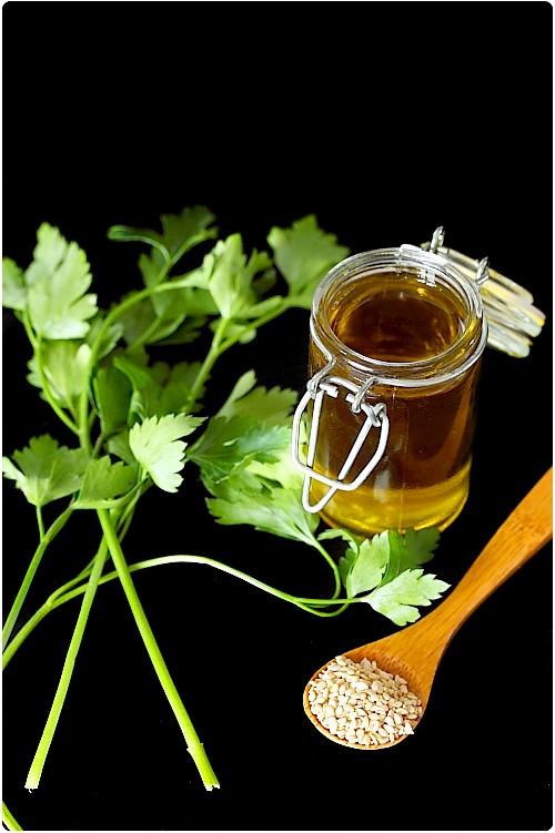 Pesto de persil aux graines de sésame