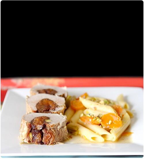 Filet mignon pruneaux et carottes