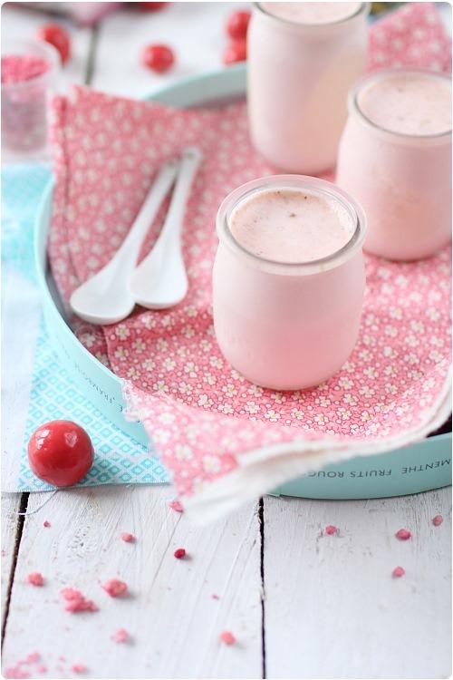 yaourt a la rose