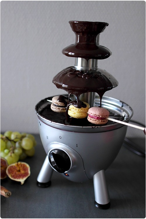 Mini Fondue Au Chocolat Publicitaire Pictures to pin on Pinterest
