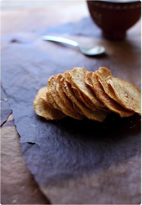 chips de pommes au pralin chefnini. Black Bedroom Furniture Sets. Home Design Ideas