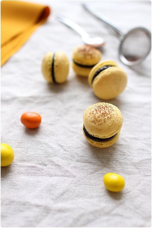 Macarons aux M&Ms