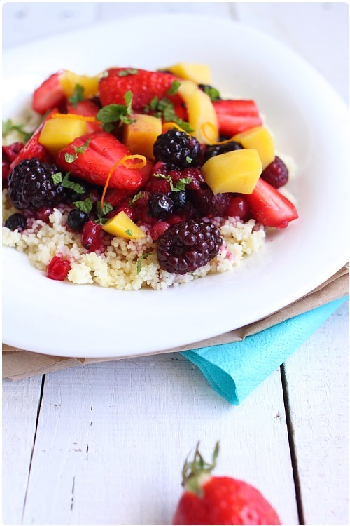 Taboulé de fruits
