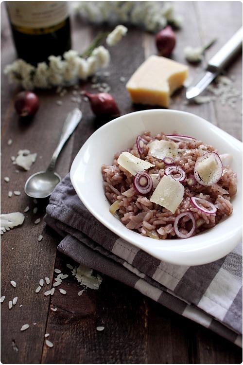 recette risotto vin rouge un site culinaire populaire avec des recettes utiles. Black Bedroom Furniture Sets. Home Design Ideas