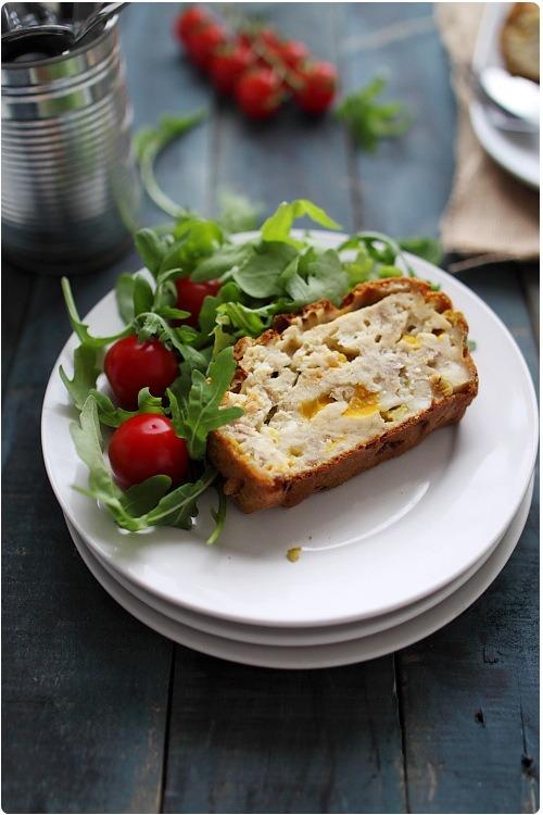 Cake Au Thon Poivron Courgette Tomates