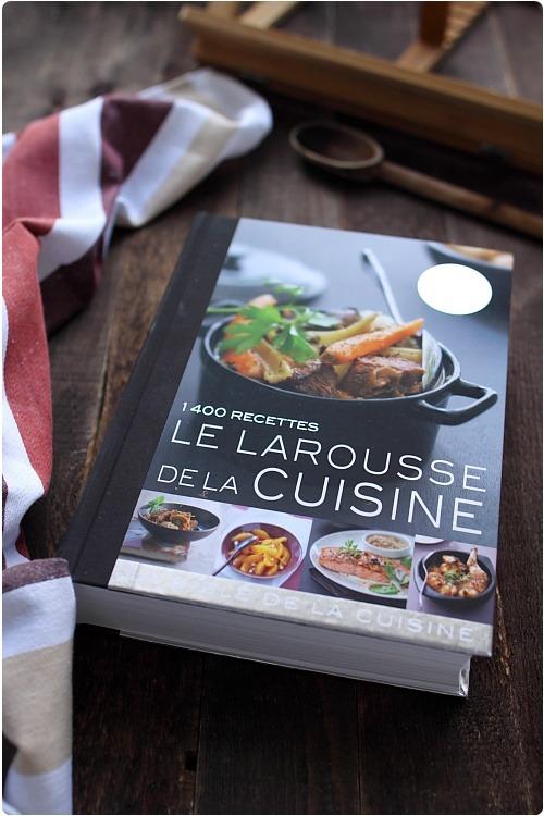 Avis larousse de la cuisine et son lutrin et 2 - Livre de cuisine traditionnelle francaise ...