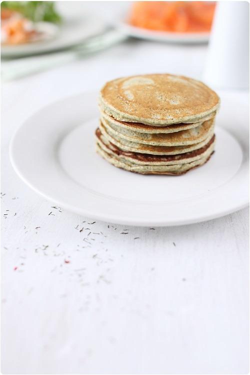Pancakes à la farine de lentilles