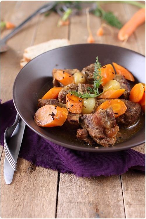 saute-porc-miel-carottes