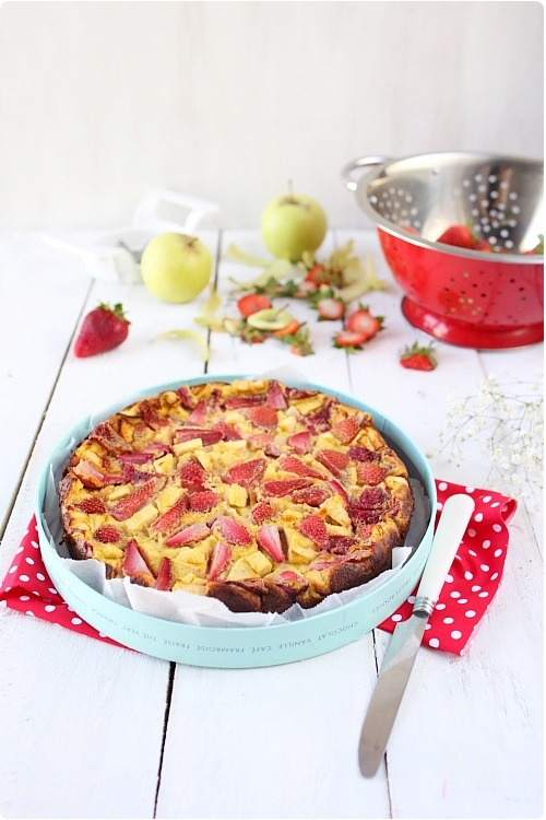 clafoutis-pommes-fraises2