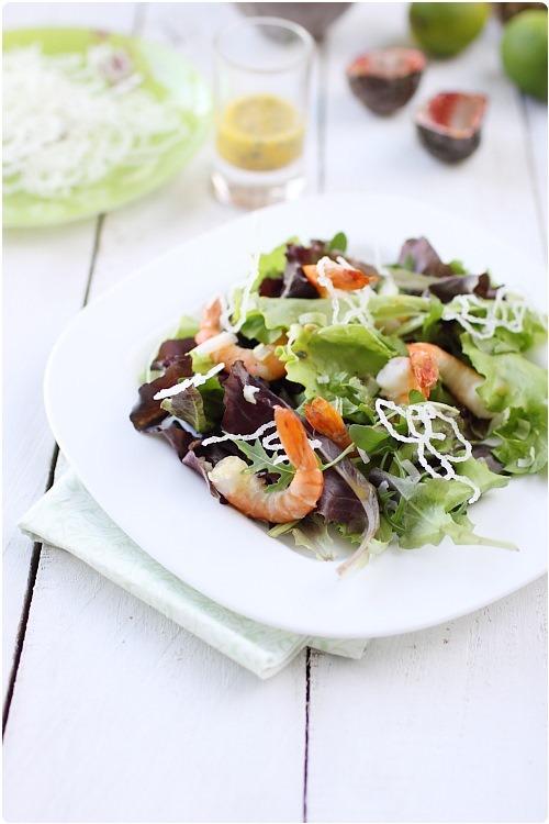 salade-gambas-vermicelle-croustillant5