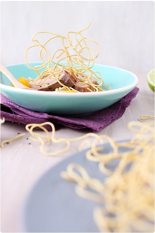 salade-magret-miel-nouilles-frites10