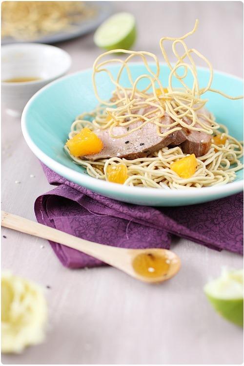 salade-magret-miel-nouilles-frites4
