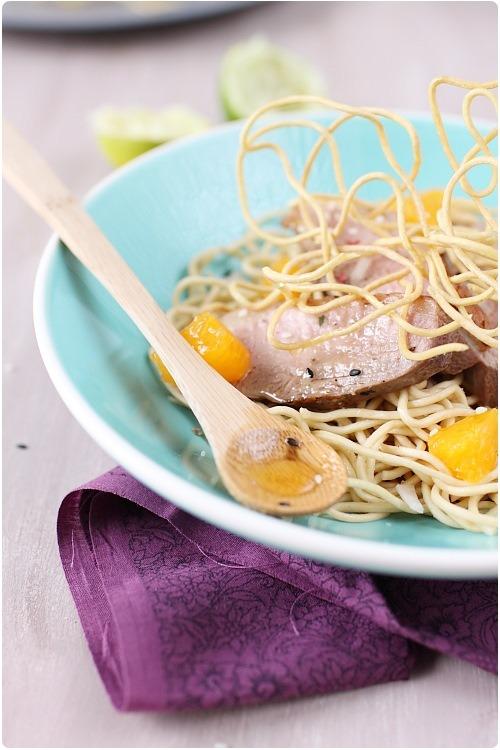 salade-magret-miel-nouilles-frites6
