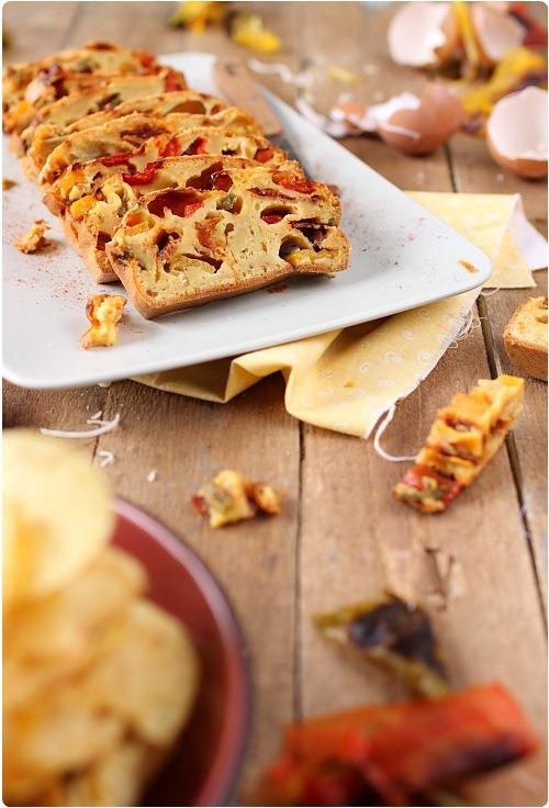 cake-poivrons-grilles-chorizo4