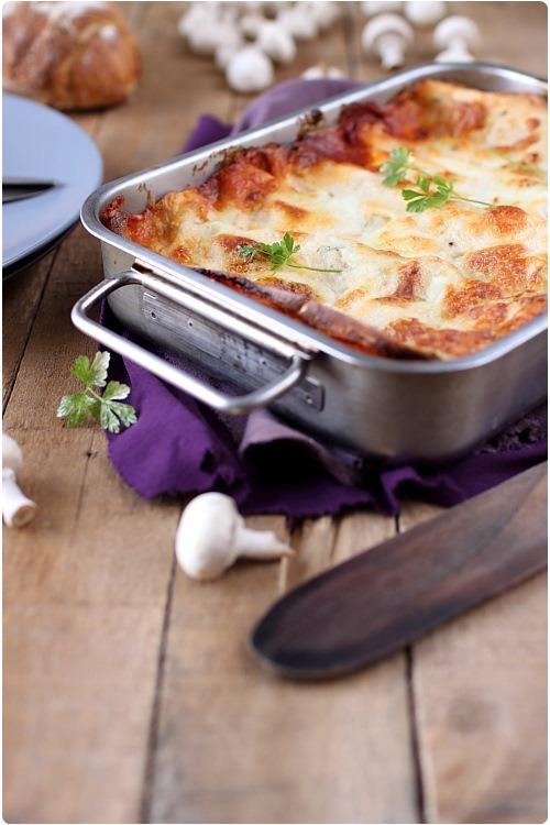 lasagne-champignons