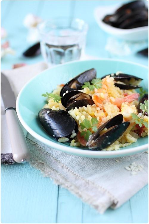 risotto-moule-crevette