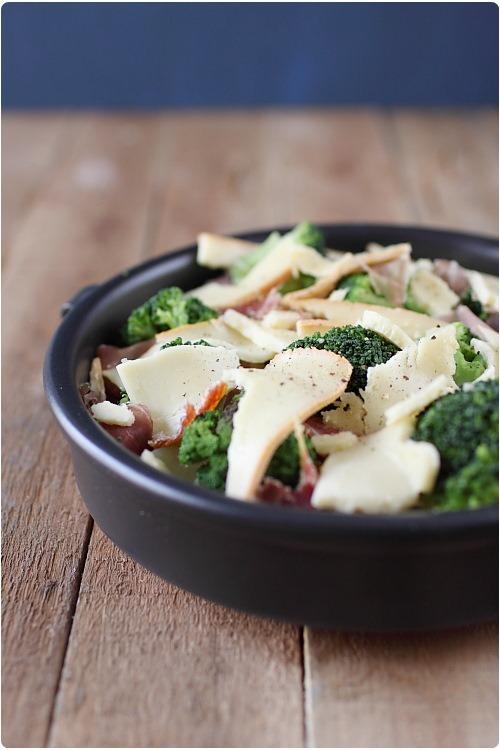 Gratin de pommes de terre et brocolis la raclette chefnini - Temps cuisson pomme de terre raclette ...