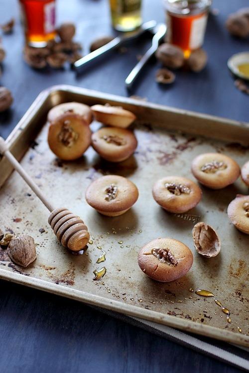 Petits gâteaux miel et noix